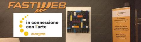 Fastweb in connessione con l'arte