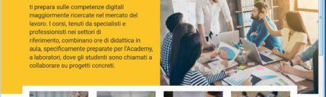 Nuovi corsi Fastweb Digital Academy