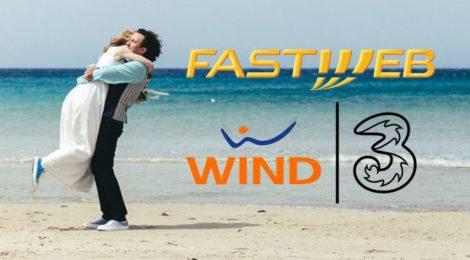 Accordo strategico Fastweb e Wind Tre