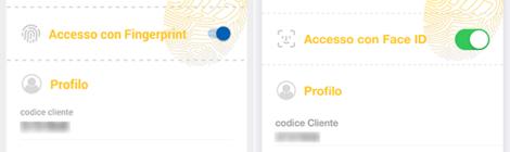 L'App MyFastweb cresce con Face ID e Touch ID