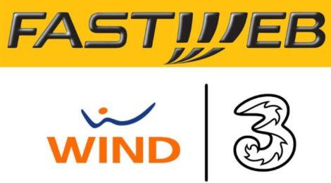 Fastweb Mobile roaming su Wind Tre