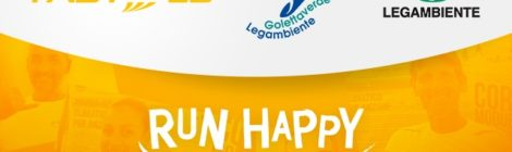 Fastweb Run Happy Crew con Legambiente