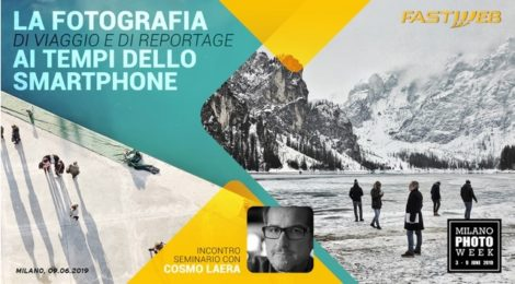 Fastweb a Milano Photo Week