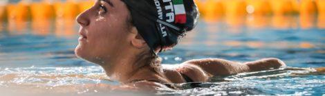Simona Quadarella testimonal di Fastweb