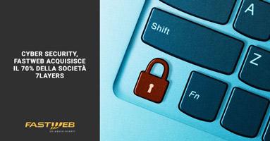 Fastweb cybersecurity con 7Layers