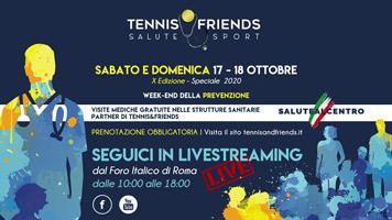 Fastweb alla 10^ edizione di Tennis&Friends