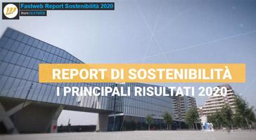 Report di Sostenibilità 2020 di Fastweb