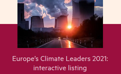 Fastweb Europe's Climate Leader 2021