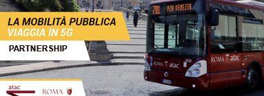 5G a Roma partnership tra Fastweb e Atac